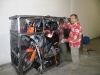 Preparazione cassa moto Nini