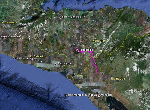 Itinerario del 19 aprile 2010
