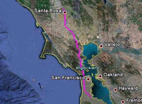 Itinerario del 21 maggio 2010