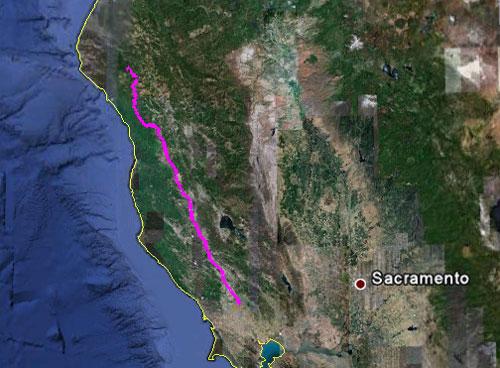 Itinerario del 22 maggio 2010
