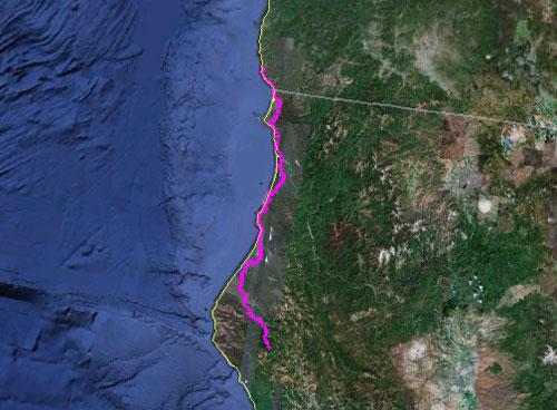 Itinerario del 23 maggio 2010