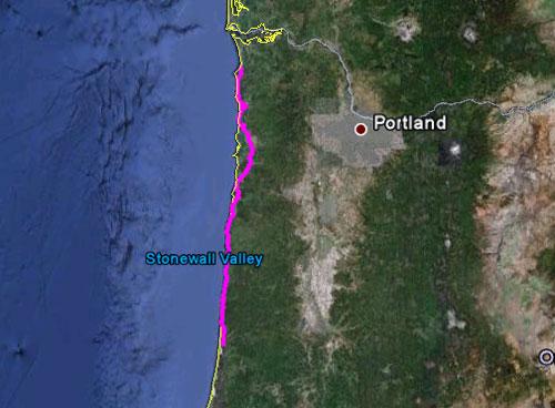 Itinerario del 25 maggio 2010
