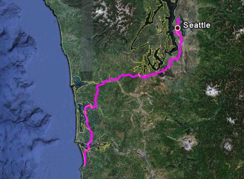 Itinerario del 26 maggio 2010