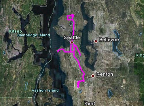 Itinerario del 27 maggio 2010