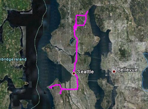 Itinerario del 29 maggio 2010