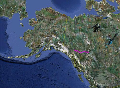 Itinerario del 6 giugno 2010