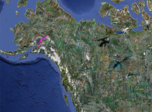 Itinerario del 15 giugno 2010
