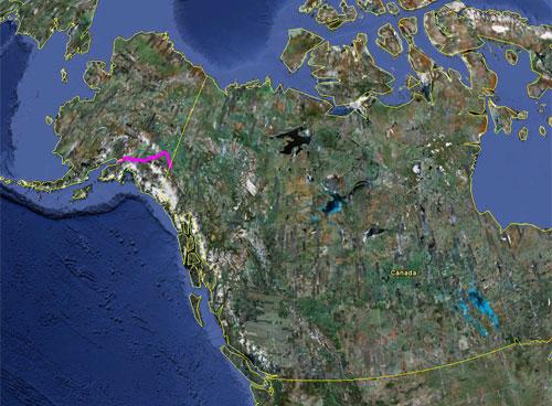 Itinerario del 17 giugno 2010