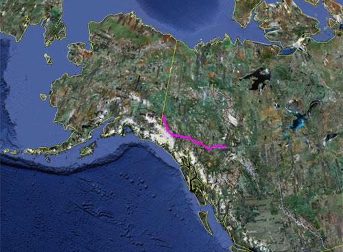 Itinerario del 18 giugno 2010